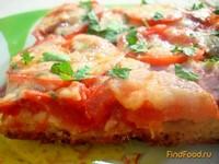 Рецепт Пицца на творожно-кефирном тесте рецепт с фото