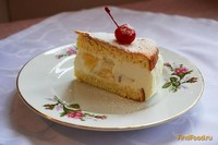 Рецепт Творожный торт с ананасом рецепт с фото