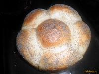 Рецепт Домашний хлеб Ромашка рецепт с фото
