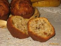 Рецепт Бананово-кокосовые кексы с грецкими орехами рецепт с фото