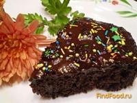 Рецепт Шоколадный пирог с вишневым ликером рецепт с фото