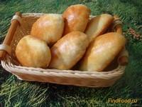 Рецепт Дрожжевые пирожки с сердцем рецепт с фото