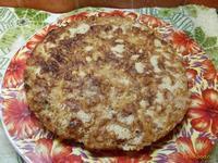 Рецепт Сухой пирог с тыквой и яблоками рецепт с фото