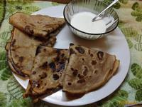 Рецепт Пышные блинчики на простокваше рецепт с фото