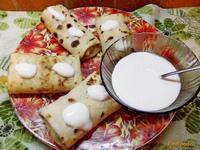 Рецепт Блинчики с паштетом из курицы рецепт с фото