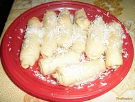 Рецепт Кокосовые трубочки рецепт с фото