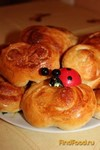 Рецепт Плюшки сахарные рецепт с фото