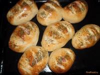 Рецепт Булочки с сосиской и сыром рецепт с фото