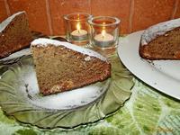Рецепт Финиковый пирог с орехами и курагой рецепт с фото