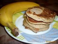 Рецепт Ржаные оладьи с бананом рецепт с фото