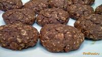 Рецепт Шоколадное овсяно-ржаное печенье рецепт с фото