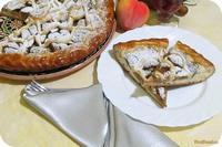 Рецепт Пирог из консервированных персиков рецепт с фото