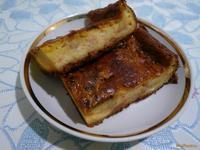 Рецепт Творожная запеканка с ароматом апельсина рецепт с фото