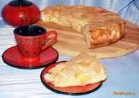 Рецепт Бисквитная шарлотка с яблоками рецепт с фото