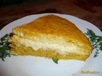 Рецепт Морковно-апельсиновый тортик рецепт с фото