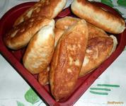 Рецепт Домашние пирожки с печенью рецепт с фото
