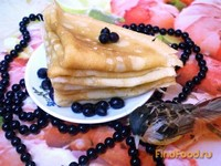 Рецепт Апельсиновые блинчики рецепт с фото