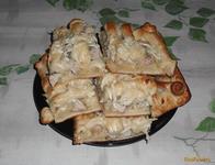 Рецепт Мясной пирог из слоеного теста рецепт с фото