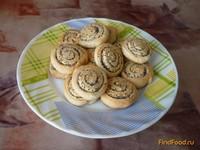 Рецепт Сметанное печенье с маком рецепт с фото
