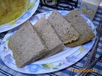 Рецепт Хлеб с льняной клетчаткой рецепт с фото