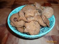 Рецепт Шоколадное печенье с изюмом на рассоле рецепт с фото