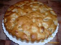 Рецепт Пирог с яблоками на кислом молоке рецепт с фото