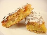 Рецепт Песочный яблочно-абрикосовый пирог рецепт с фото