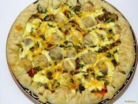 Рецепт Пицца Грибная поляна рецепт с фото