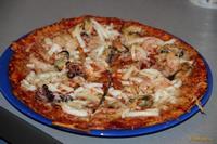 Рецепт Пицца с морепродуктами быстро рецепт с фото