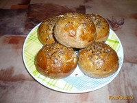 Рецепт Булочки ржаные с луком рецепт с фото