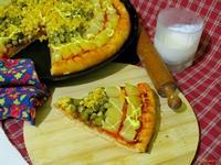 Рецепт Пицца с ананасами рецепт с фото