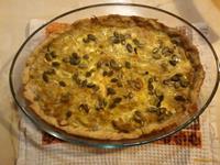 Рецепт Луковый пирог с тыквенными семечками рецепт с фото