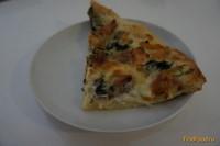 Рецепт Пирог-пицца с беконом и шпинатом рецепт с фото