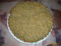Рецепт Постный кукурузный пирог с маком рецепт с фото
