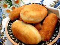 Рецепт Пирожки жареные с квашеной капустой рецепт с фото