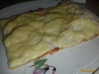 Рецепт Пицца на тонком лаваше рецепт с фото