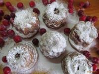 Рецепт Кексы с вишней рецепт с фото