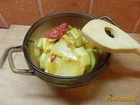 Рецепт Диетические тушеные овощи рецепт с фото