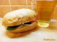 Рецепт Куриный сэндвич с мятой рецепт с фото