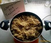 Рецепт Вегетарианский плов с нутом рецепт с фото