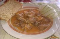 Рецепт Гуляш из куриных желудочков рецепт с фото