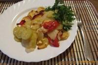 Рецепт Овощи запеченные с картофелем рецепт с фото