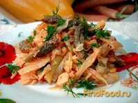 Рецепт Капуста тушёная со стручковой фасолью рецепт с фото
