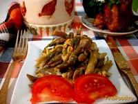 Рецепт Фасоль стручковая со сметаной рецепт с фото
