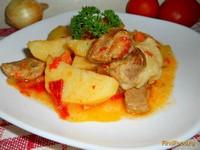 Рецепт Жаркое из свинины рецепт с фото