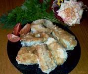 Рецепт Жареная рыба с золотистой корочкой рецепт с фото