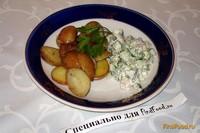 Рецепт Запеченный картофель с селедкой рецепт с фото