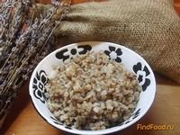 Рецепт Гречневая каша в горшочке с салом рецепт с фото