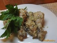 Рецепт Куриные голени в луково-сметанном маринаде рецепт с фото
