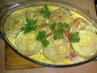 Рецепт Овощная запеканка с сардельками рецепт с фото
